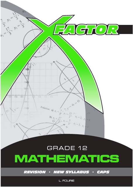 Maths Study Guide for grade 12 (CAPS).